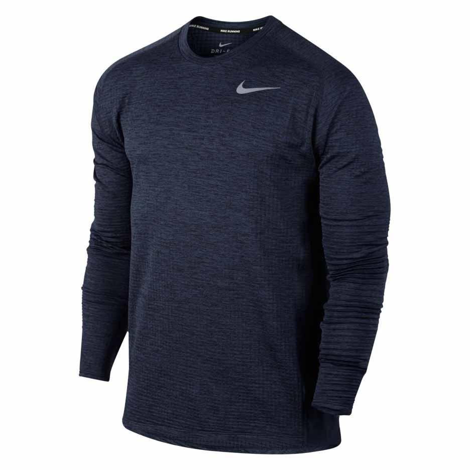 Atar hormigón alfombra  Nike Therma Sphere Element Crew Blue buy and offers on Traininn