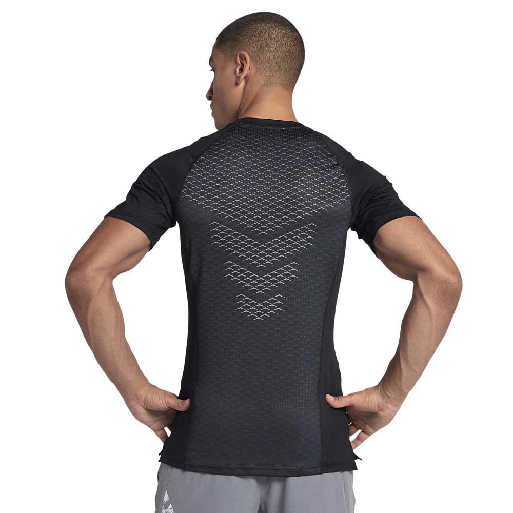 Nike Pro Hypercool Fitted GFX Sort køb og tilbud, Traininn T