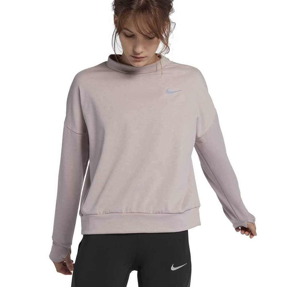 Mecánicamente Estereotipo molino  Nike Therma Sphere Element Crew Pink buy and offers on Traininn