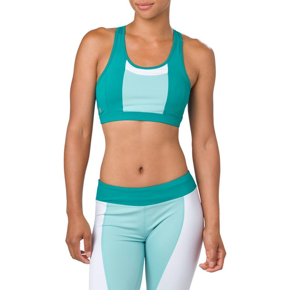 40531a79dc Asics Color Block Bra Blue buy and offers on Traininn