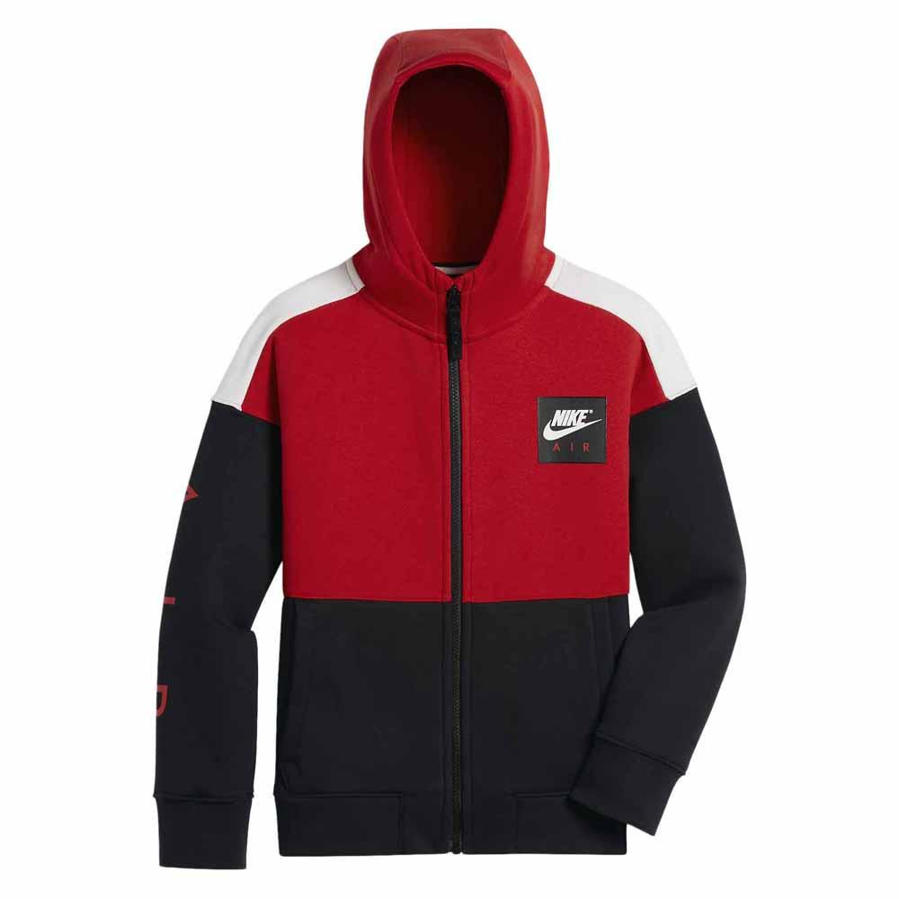 b1e8ae74714c Nike Air Full Zip Hooded Red buy and offers on Traininn