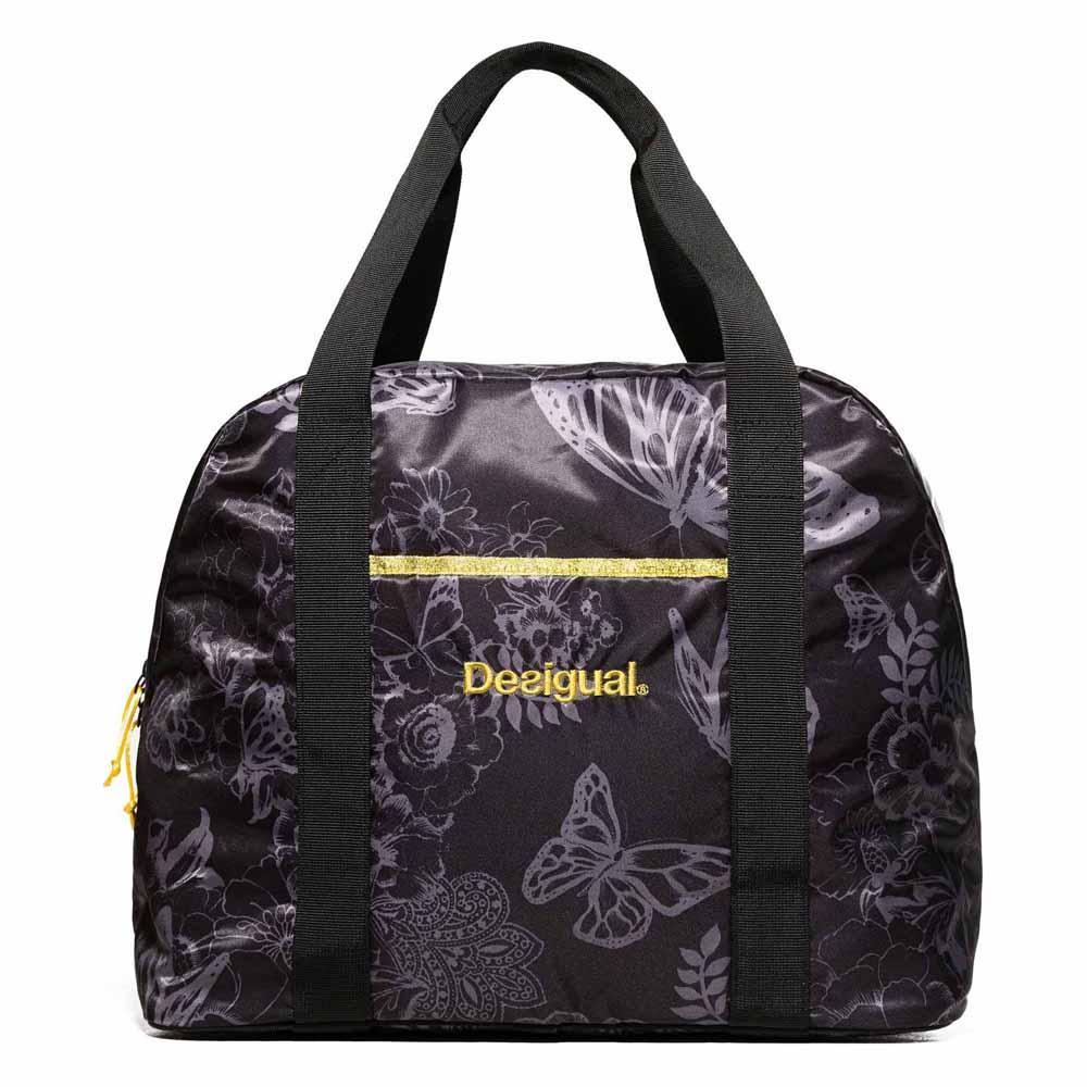 Desigual Exorbidance Padded Gym Sack Black 8bf3e0077bf77