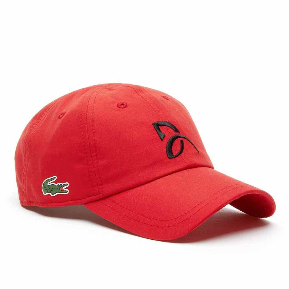 3b5d5f8376b Lacoste RK3881 Red buy and offers on Traininn