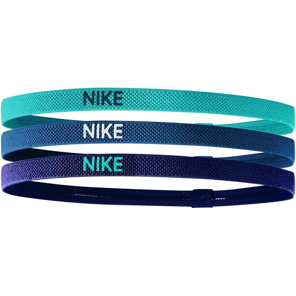 único Omitir Saliente  Nike accessories Elastic Hairbands Pack 3 Units Blue, Traininn