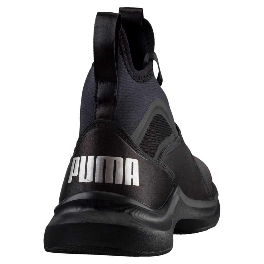 10af486a6a9df3 Puma Phenom Satin EP Black buy and offers on Traininn