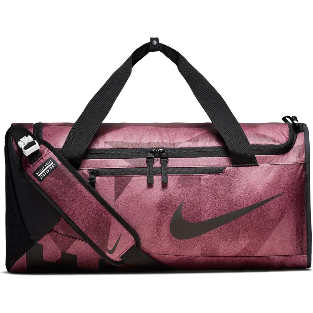 Nike Alpha Duffel M Pink buy and offers on Traininn 3bdb9ed54b25
