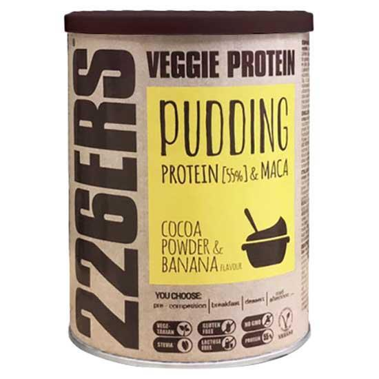 226ers Evo Veggie Pudding Cocoa Powder And Banana Flavor 350gr