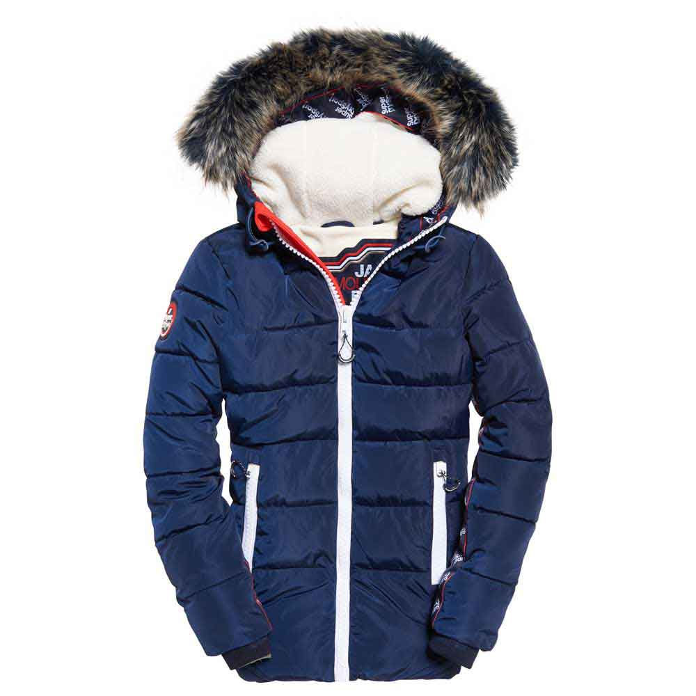 Superdry Streetwear Tall Repeat Puffer