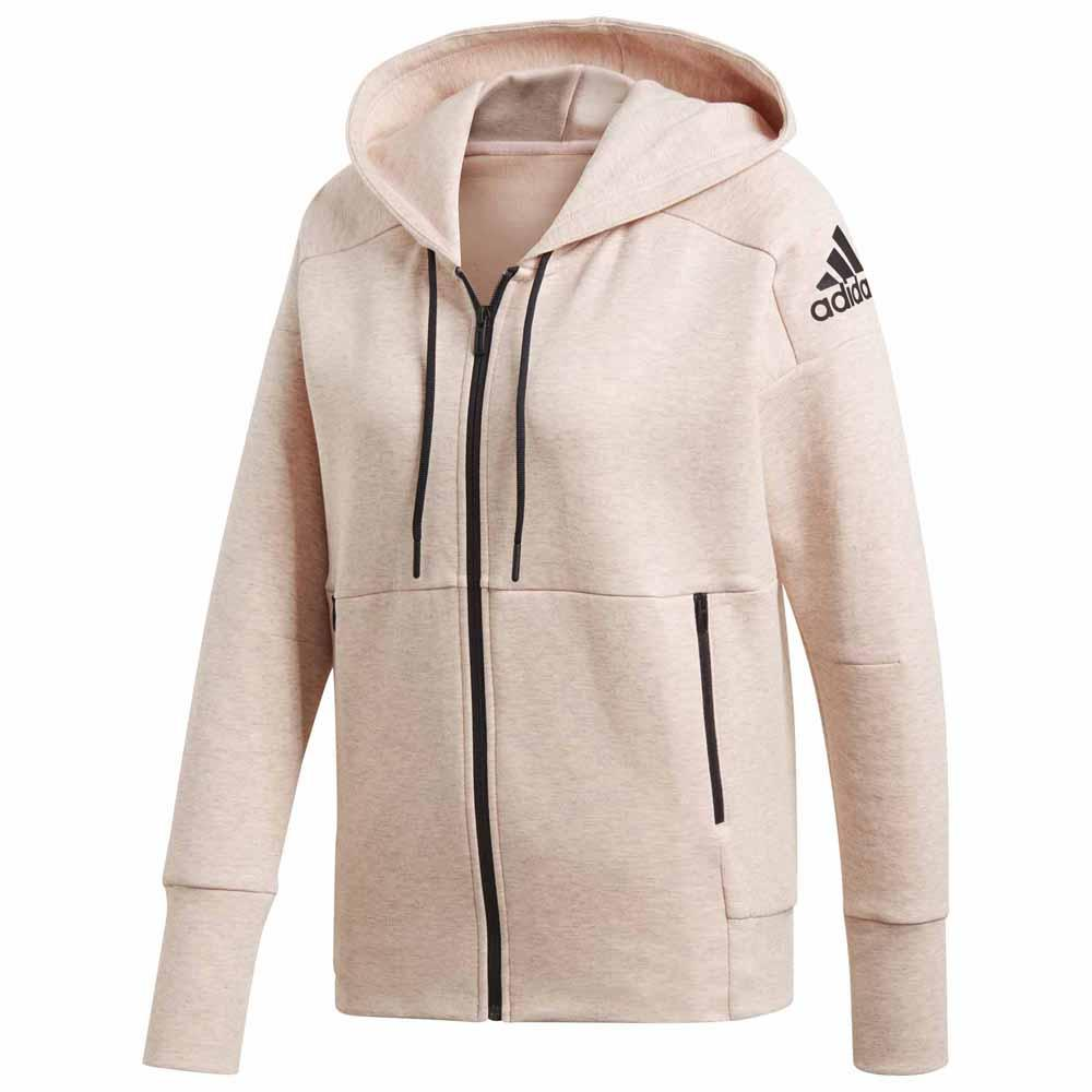 adidas ID Stadium Hooded Pink buy and offers on Traininn ae0f0e12db