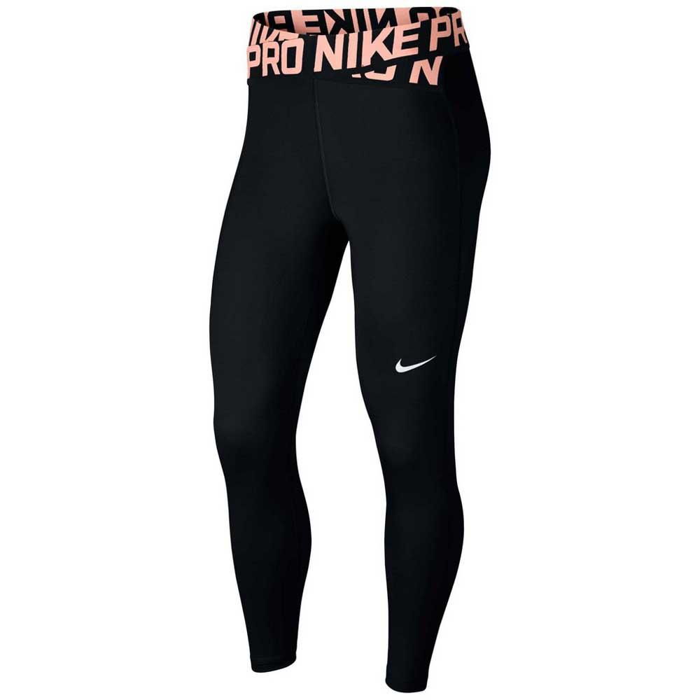 dd38a94078341f Nike Pro Crossover Crop Black buy and offers on Traininn