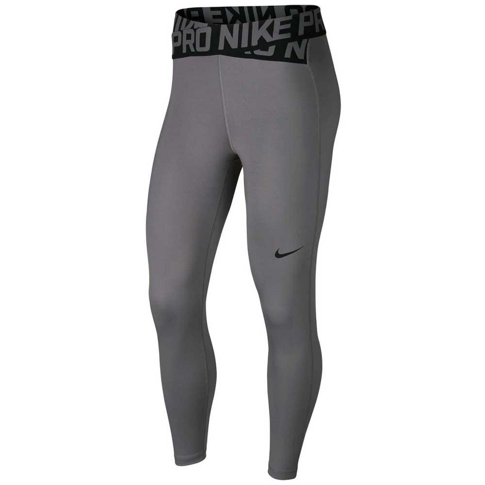 97857f131ce5f5 Nike Pro Crossover Crop Grey buy and offers on Traininn