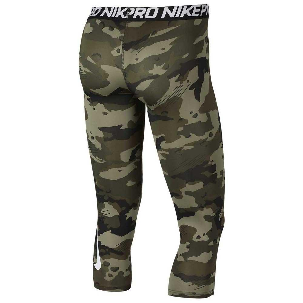 check out 12586 a4f68 Nike Pro 2L Camo Green buy and offers on Traininn