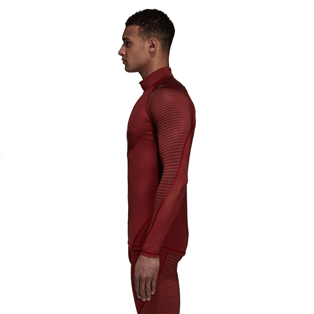adidas Alphaskin Sport Climawarm Red buy and offers on Traininn