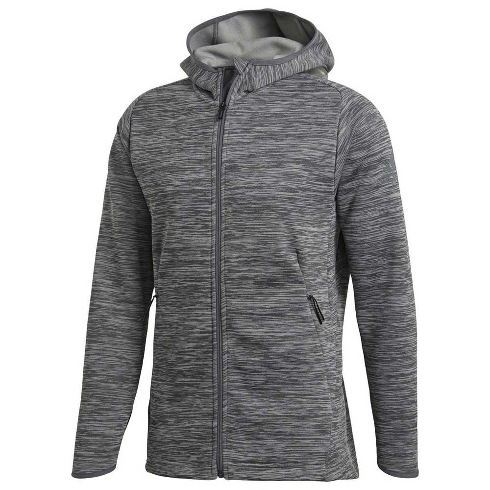 748e1756 adidas Freelift Climaheat Hoody Grey buy and offers on Traininn