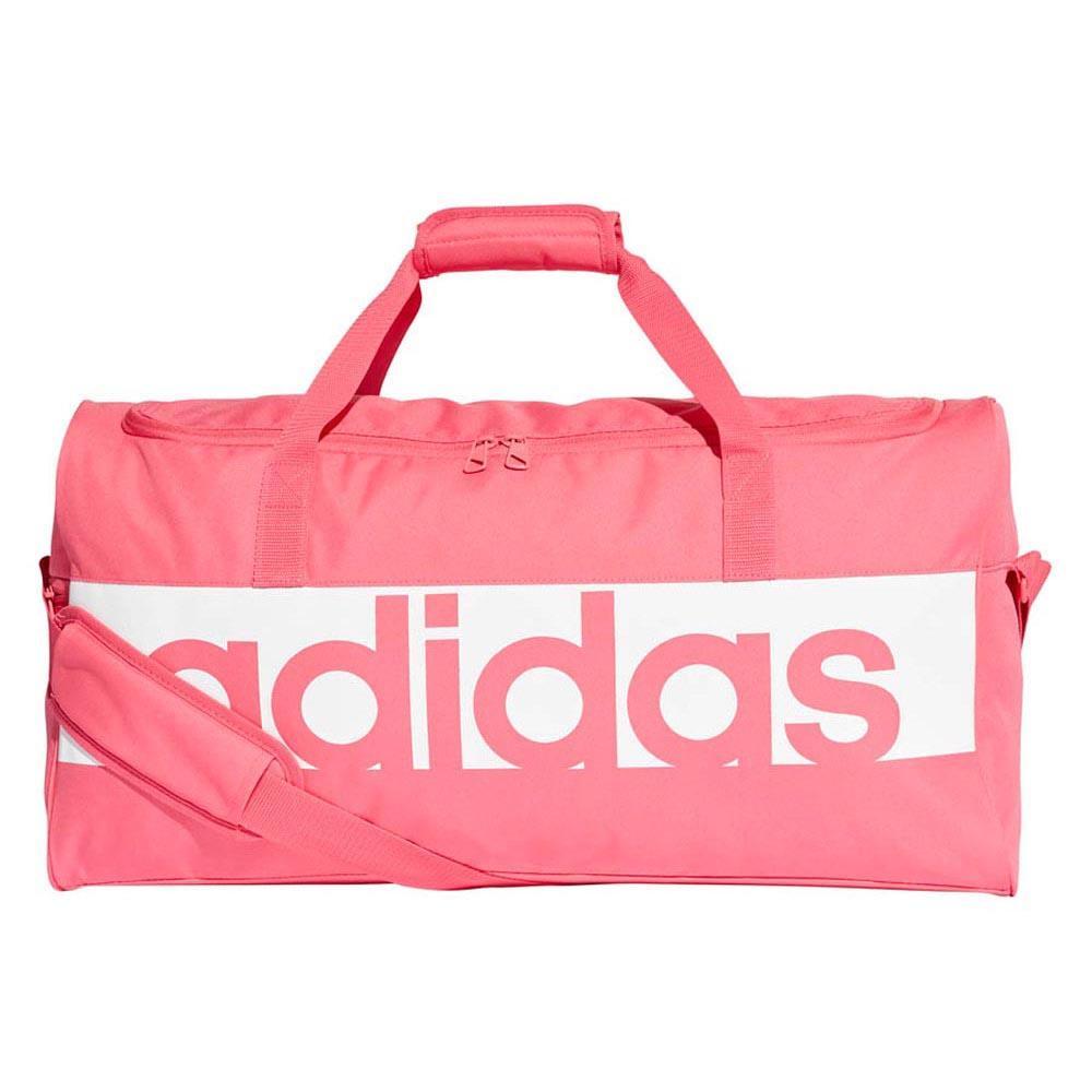 adidas Linear Performance Duffel M 43.7L Pink 98f0215d06011