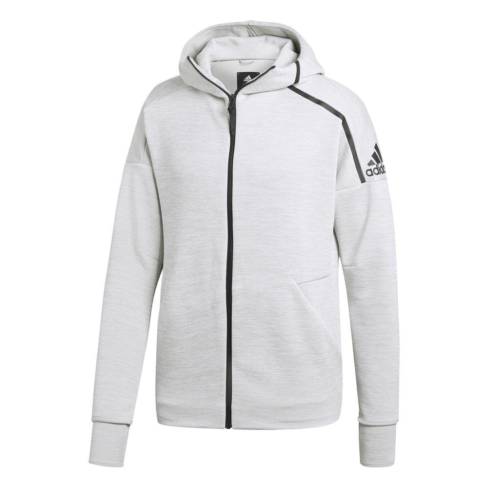 adidas ZNE Fast Release Zip Hoody Regular Branco, Traininn