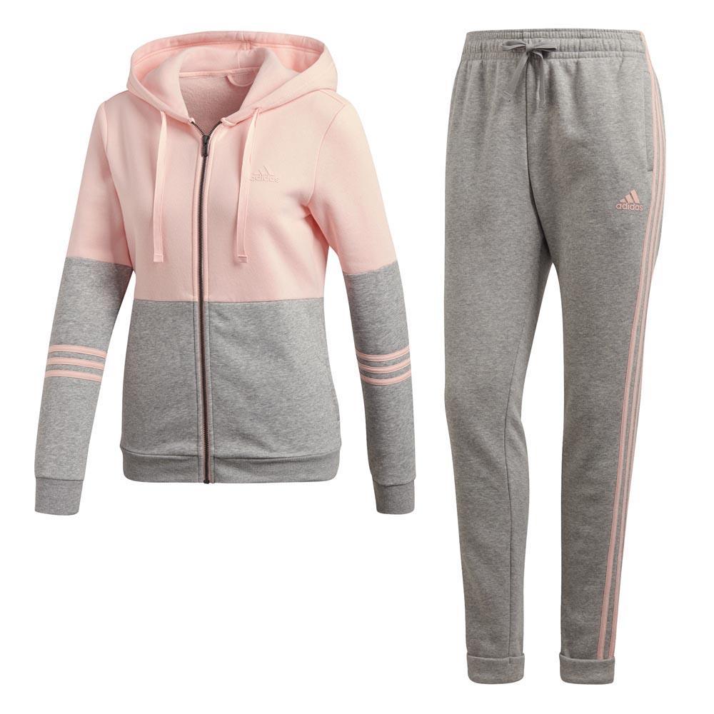 ecc9d9d5404e adidas Cotton Energize Tracksuit Regular Grey