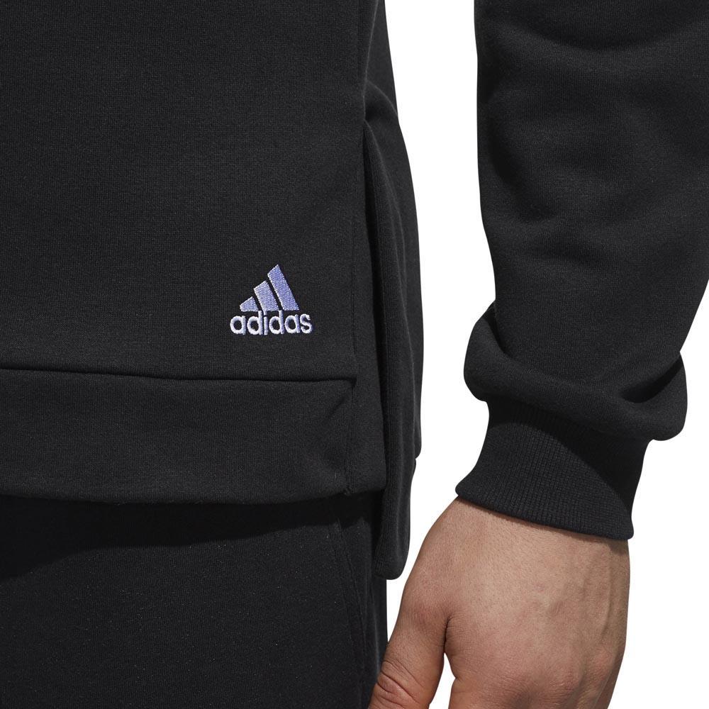 adidas S2S Big Logo Svart kjøp og tilbud, Traininn Hettgenser