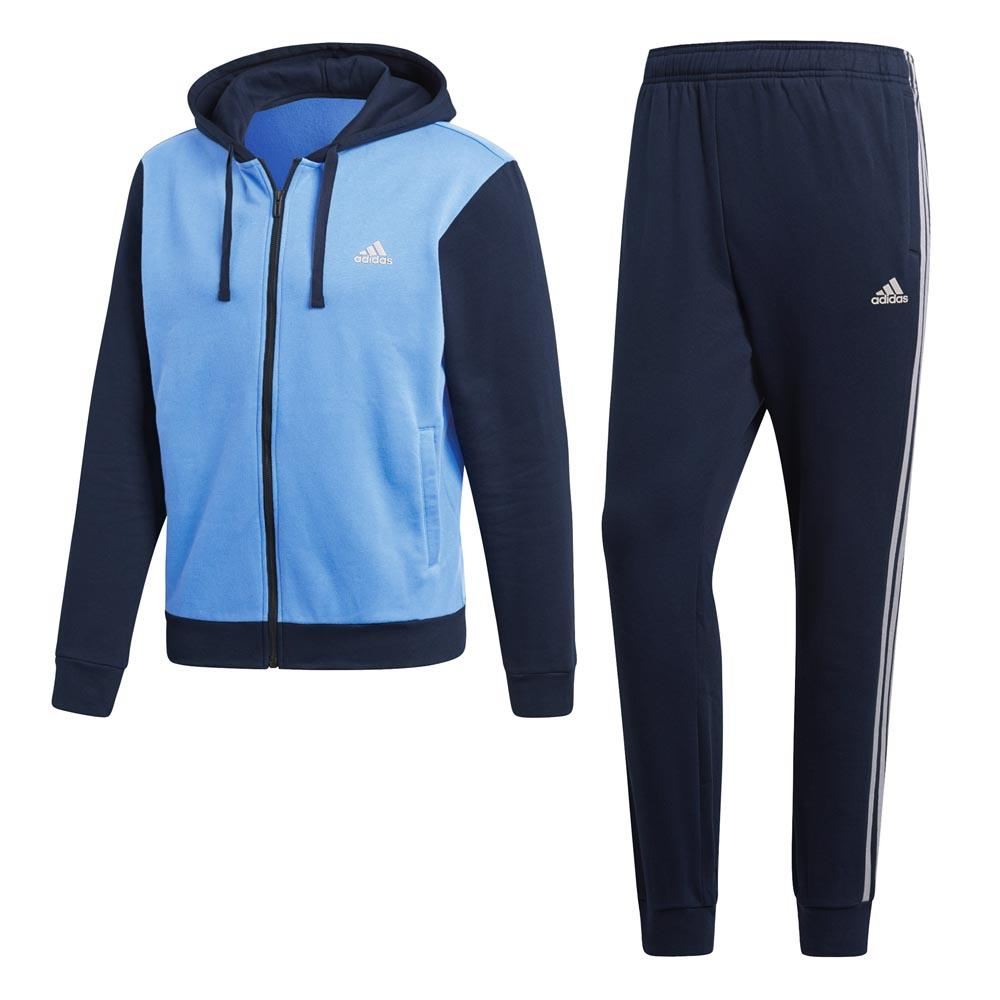 adidas Cotton Energize Tracksuit Regular Blå, Traininn