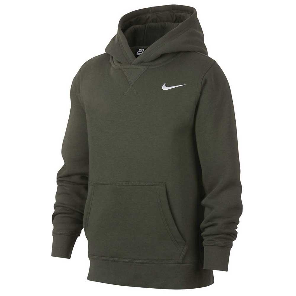 Nike Kids YA76 Brushed Fleece Pull On Hoodie