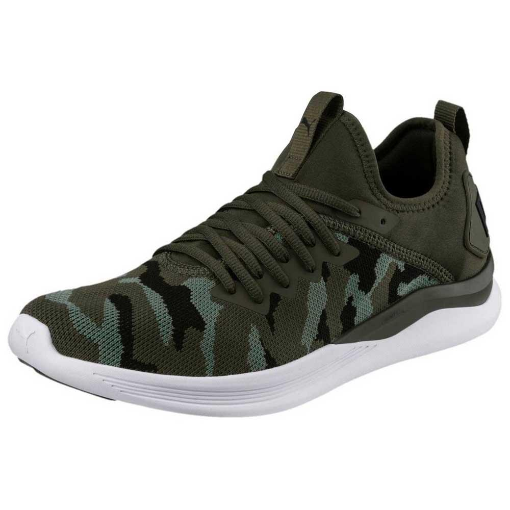 acheter pas cher 86541 6033d Puma Ignite Flash Camo Green buy and offers on Traininn