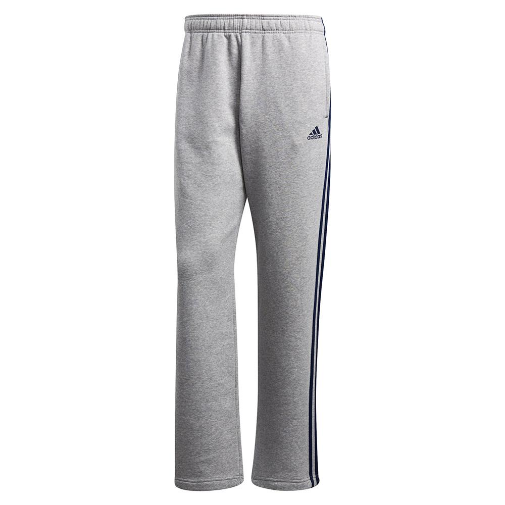 014eba1da adidas Essentials 3 Stripes Fleece Pants Short Grey