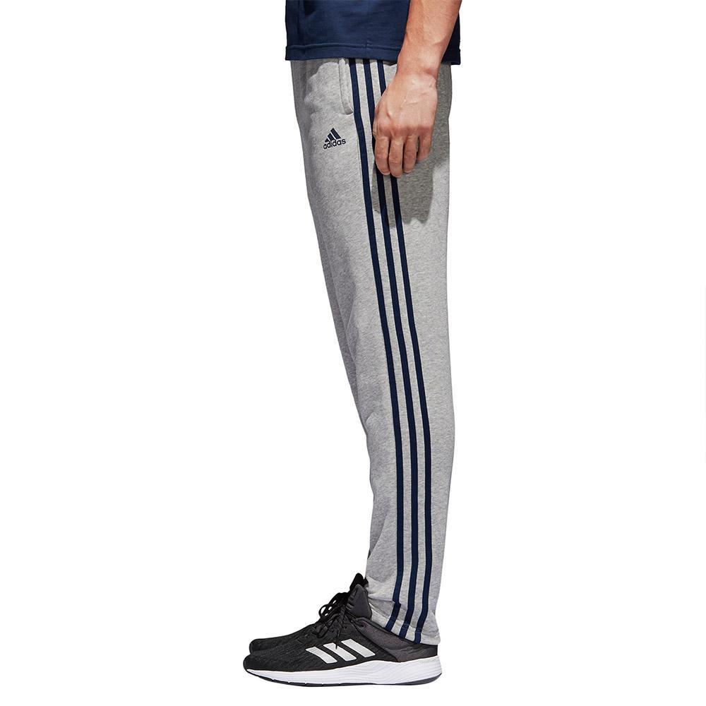 adidas Essentials 3 Stripes Tapered Pants Long Grijs