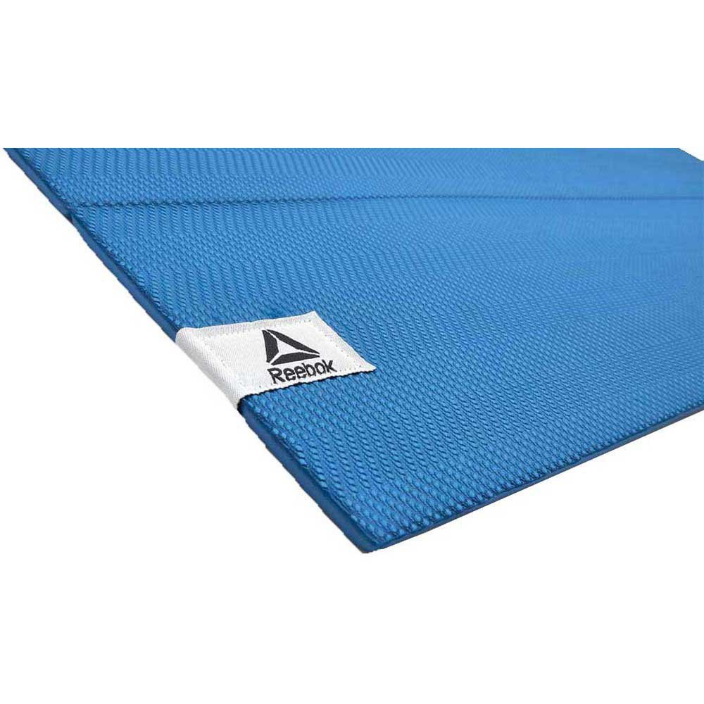 Reebok Folded Yoga Mat Blue Buy And Offers On Traininn