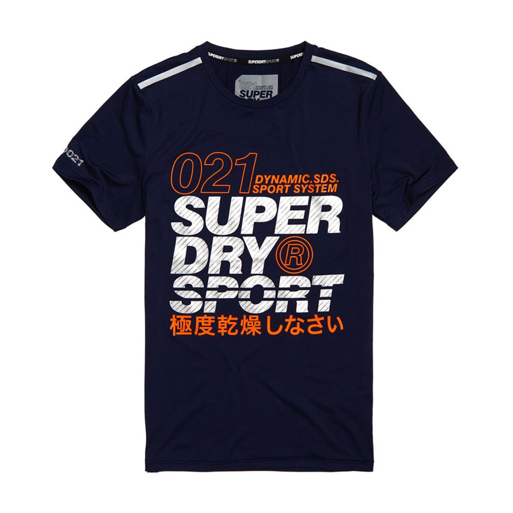 a9edb771b Superdry Active Graphic Blue buy and offers on Traininn