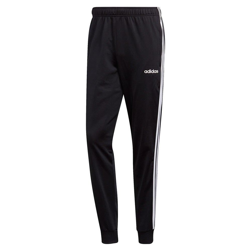 adidas Essentials 3 Stripes Tricot Pants Regular Musta 3b8a9c1763