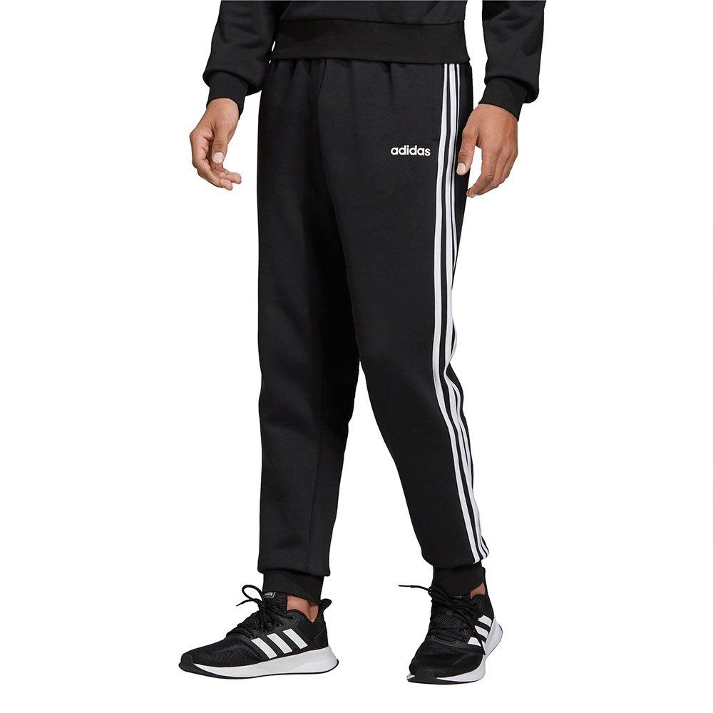 adidas Essentials 3 Stripes Fleece Pants Regular