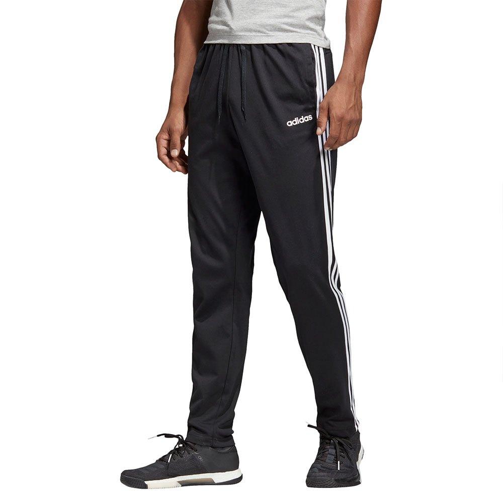 adidas Essentials 3 Stripes Regular Long Pants Black, Traininn