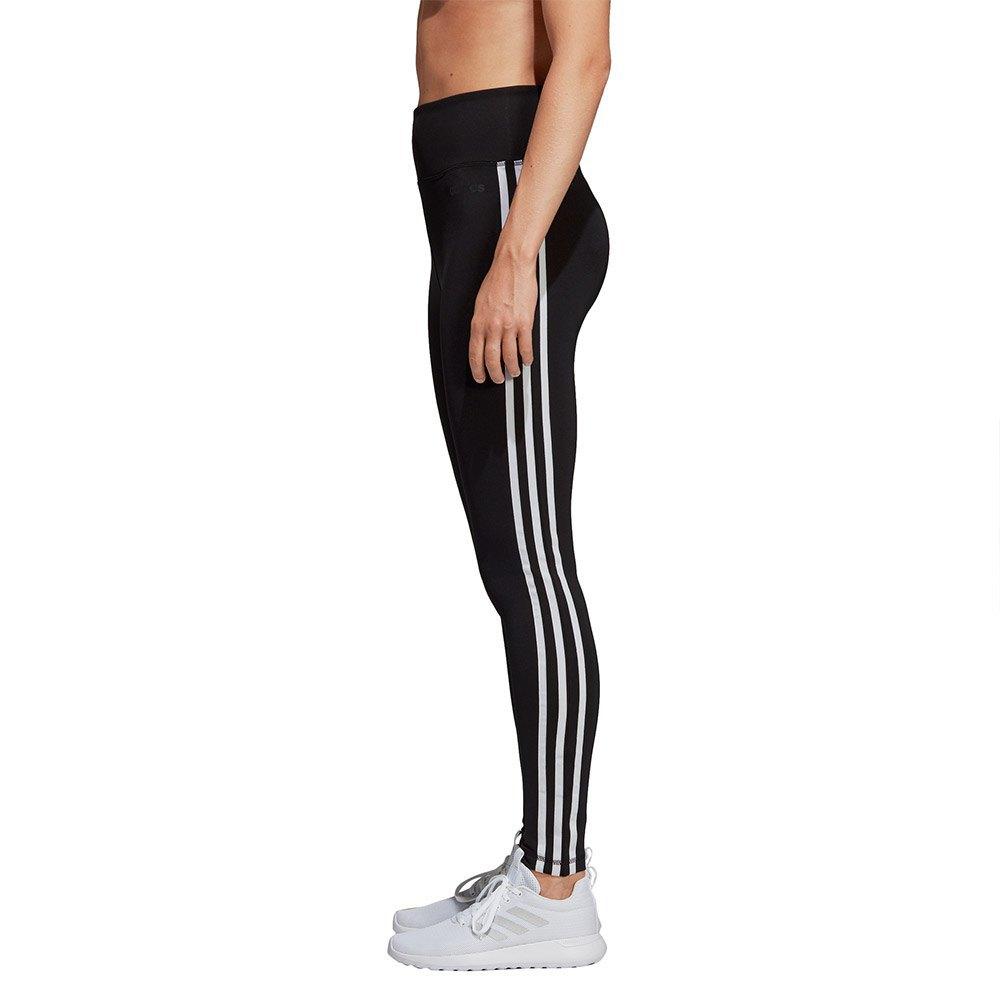 62cf117589b adidas Design 2 Move High Rise 3 Stripes Tights Long Black, Traininn
