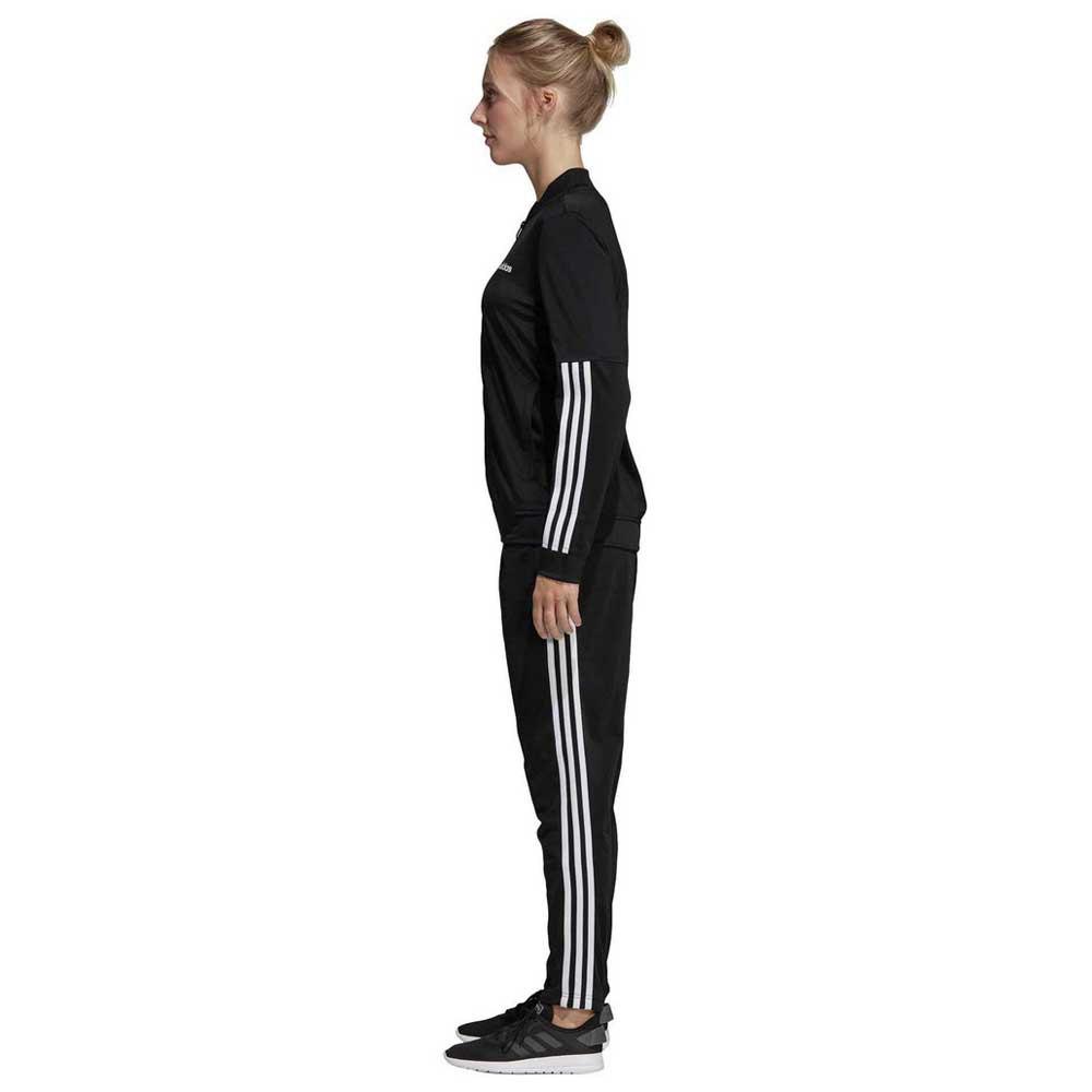 Massaggio spicca angoscia  adidas Back 2 Basics 3 Stripes Tracksuit Regular Black, Traininn