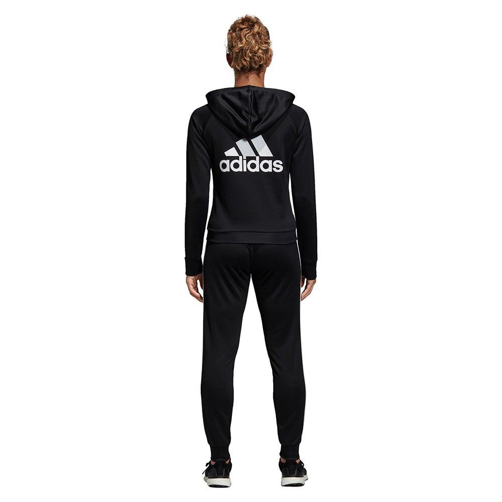 Agasalho Adidas Marker Preto e Branco