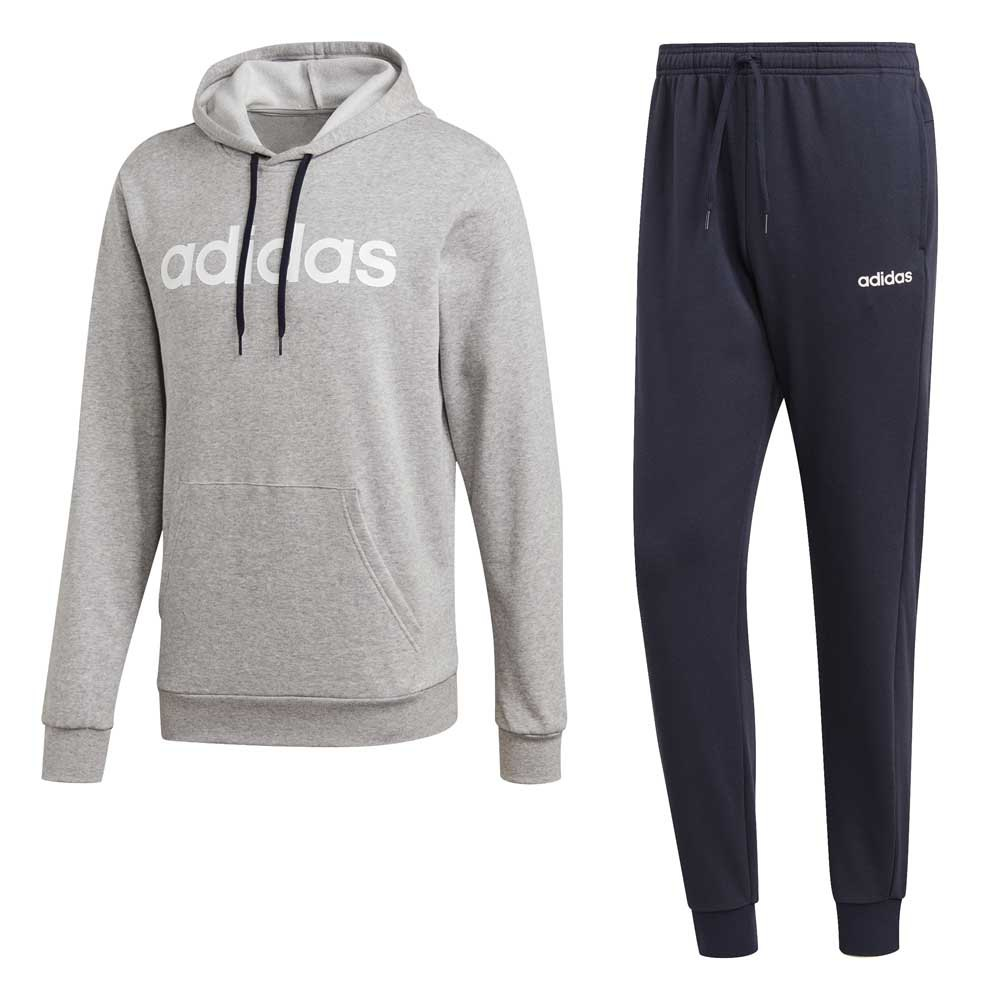 adidas Cotton Hooded Tracksuit