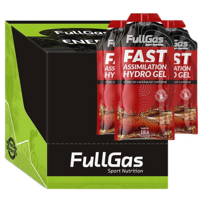 FullGas Energy Gel 40gr 24 Units