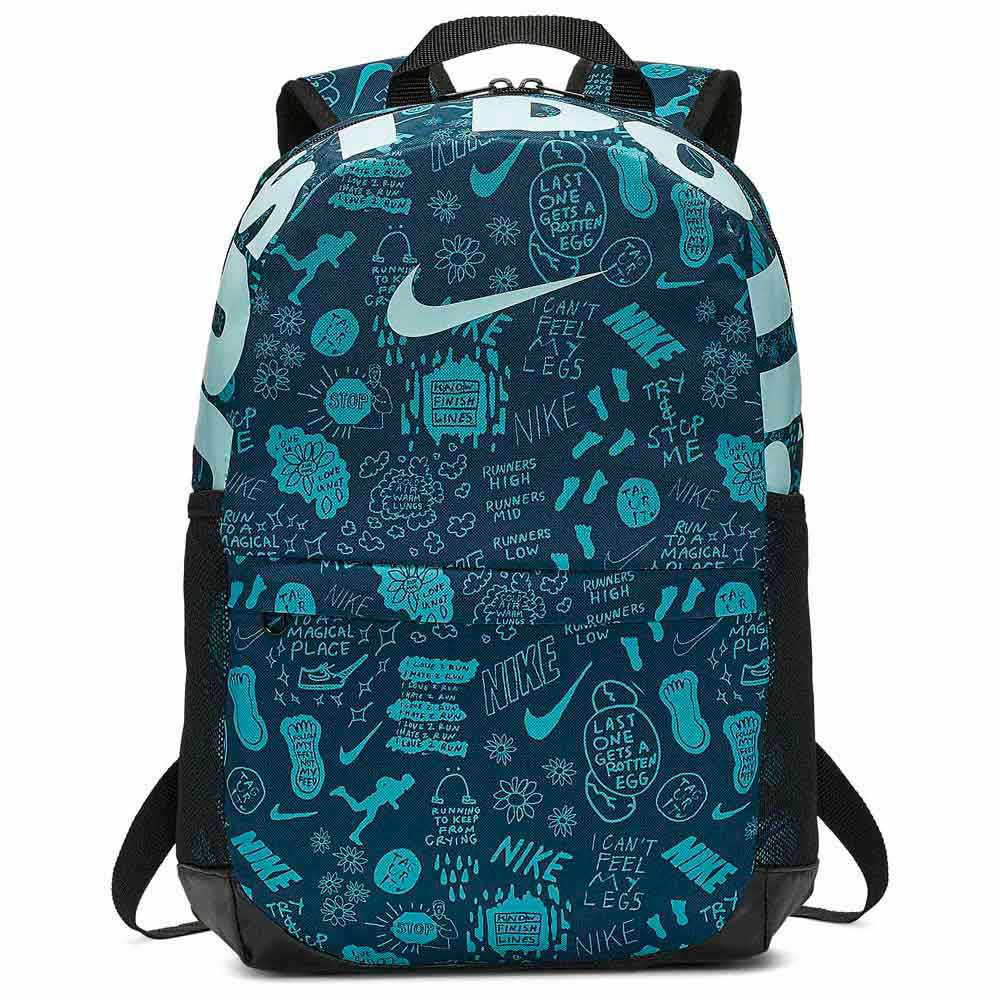 Nike Brasilia Printed Blue buy and offers on Traininn