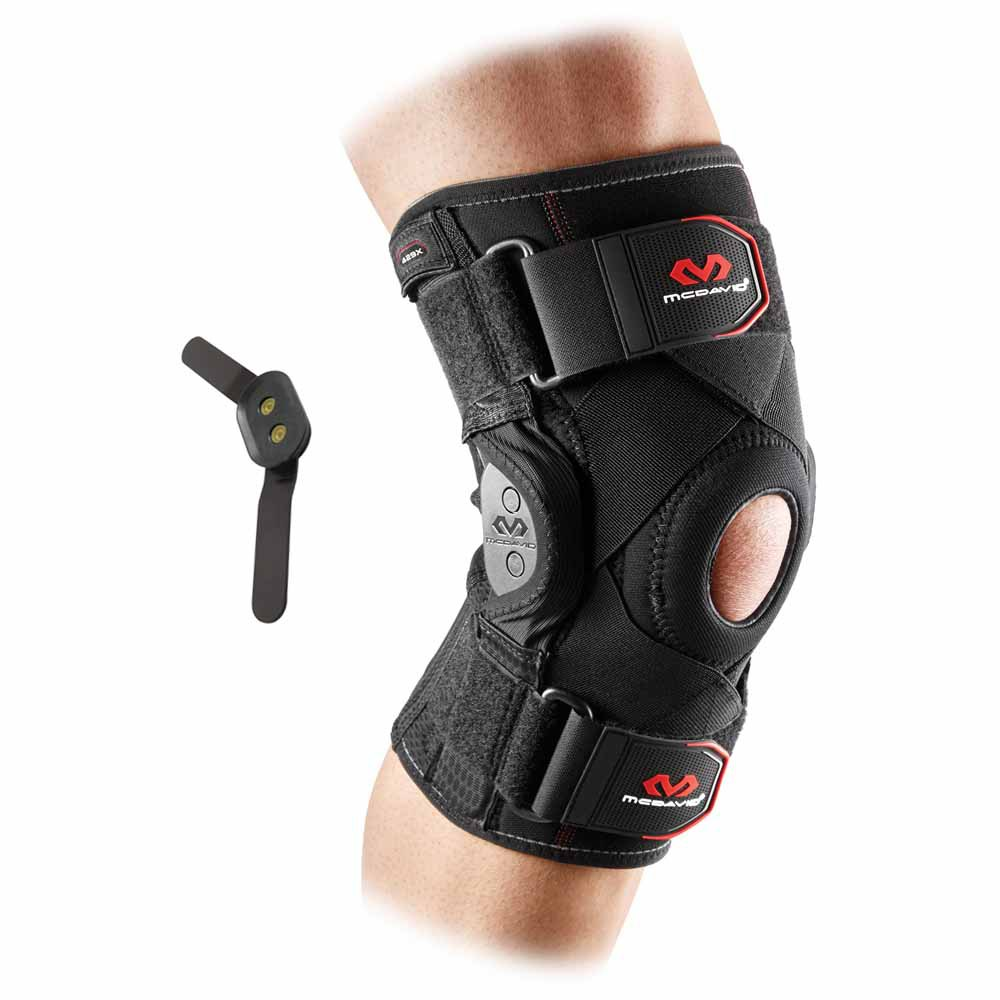 Mc david Knee Brace With Polycentric Hinges And Cross Straps