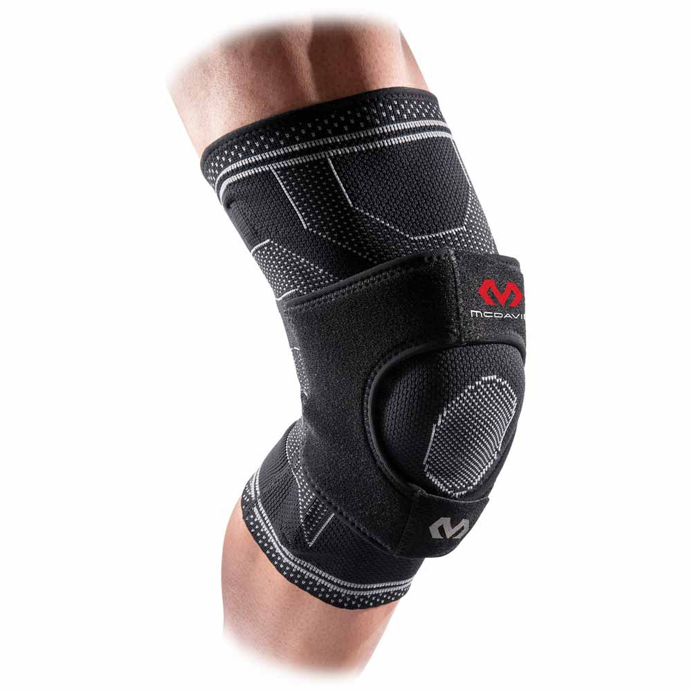 Mc david Elite Engineered Elastic Knee Support With Dual Wrap And Stays