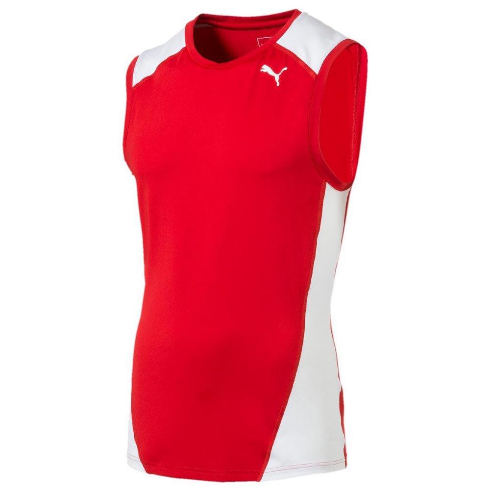 design de qualité 433b4 10061 Puma Cross The Line Sleeveless Top Red, Traininn