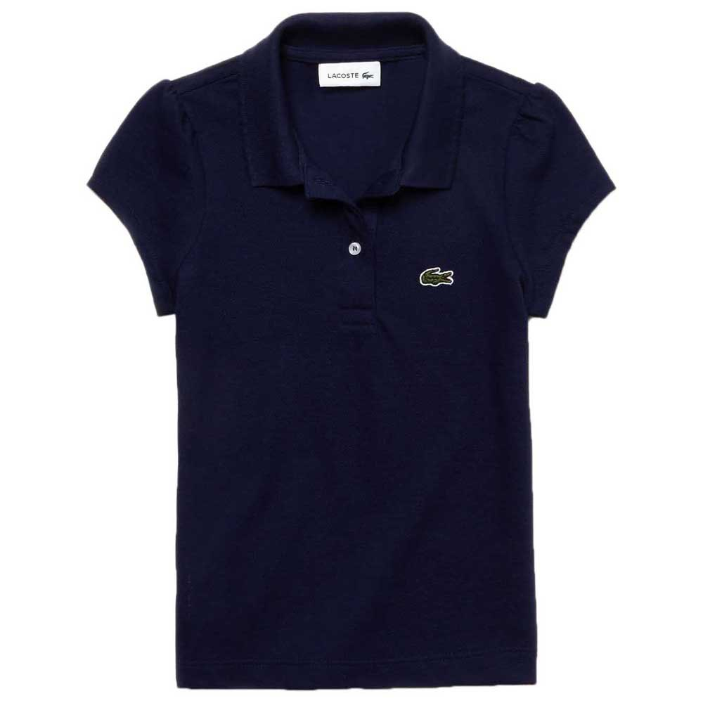 Lacoste Scalloped Collar Mini Pique