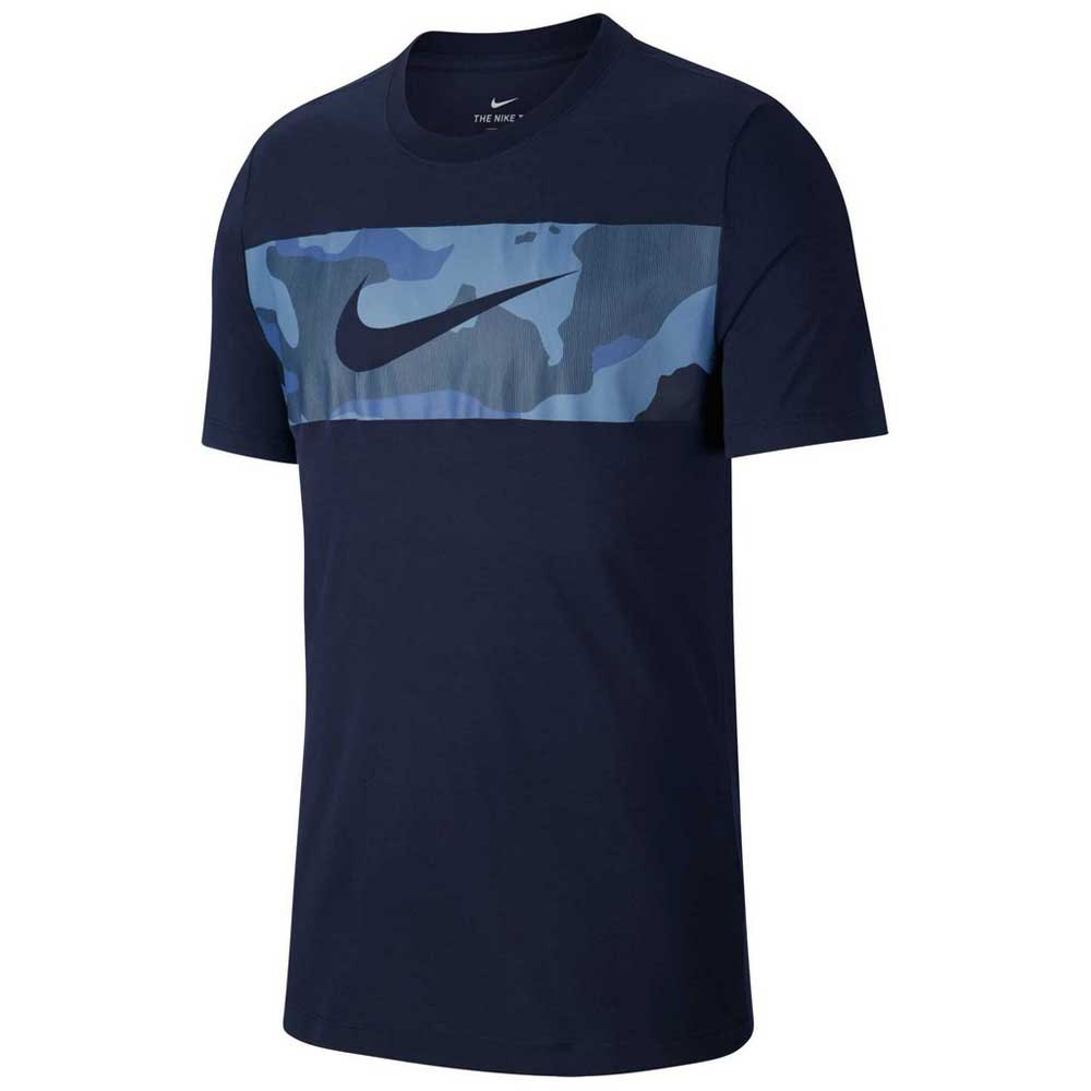 Nike Dry Camo Block Tee Regular Blue