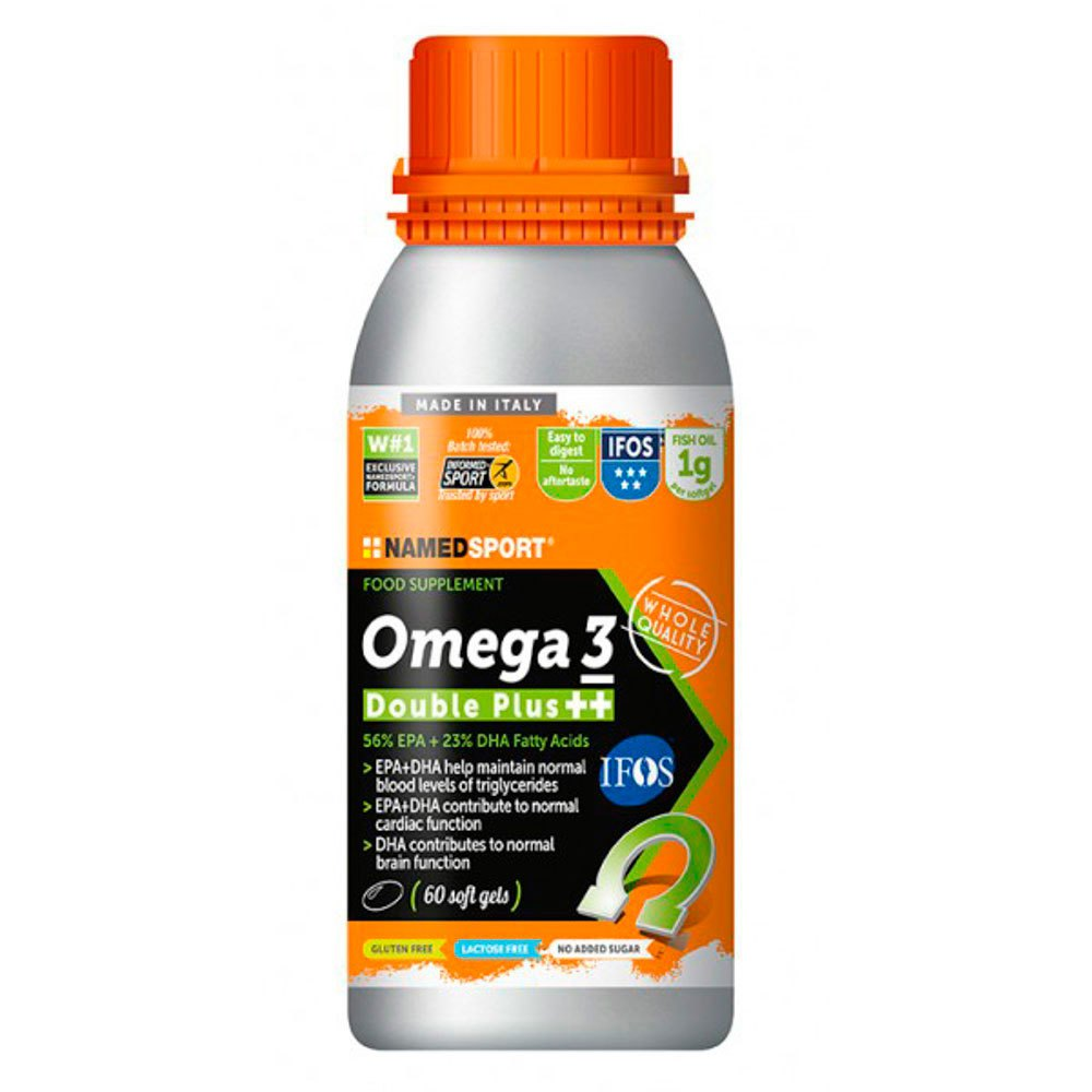 Named sport Omega 3 Double Plus 60 Capsules