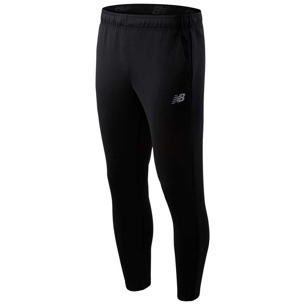 New balance Tenacity Knit Long Pants Black, Traininn