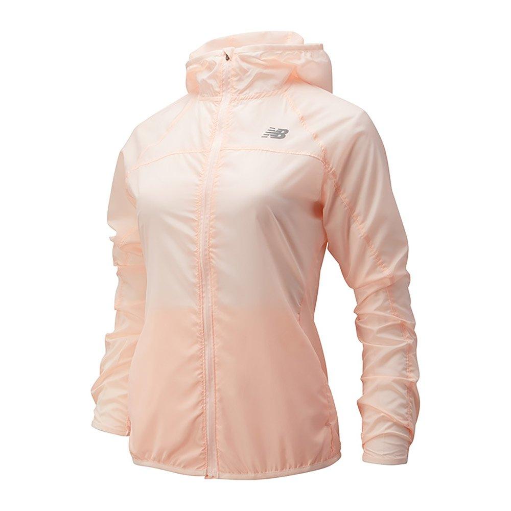 New balance Windcheater 2.0 Hoodie Jacket Pink, Traininn