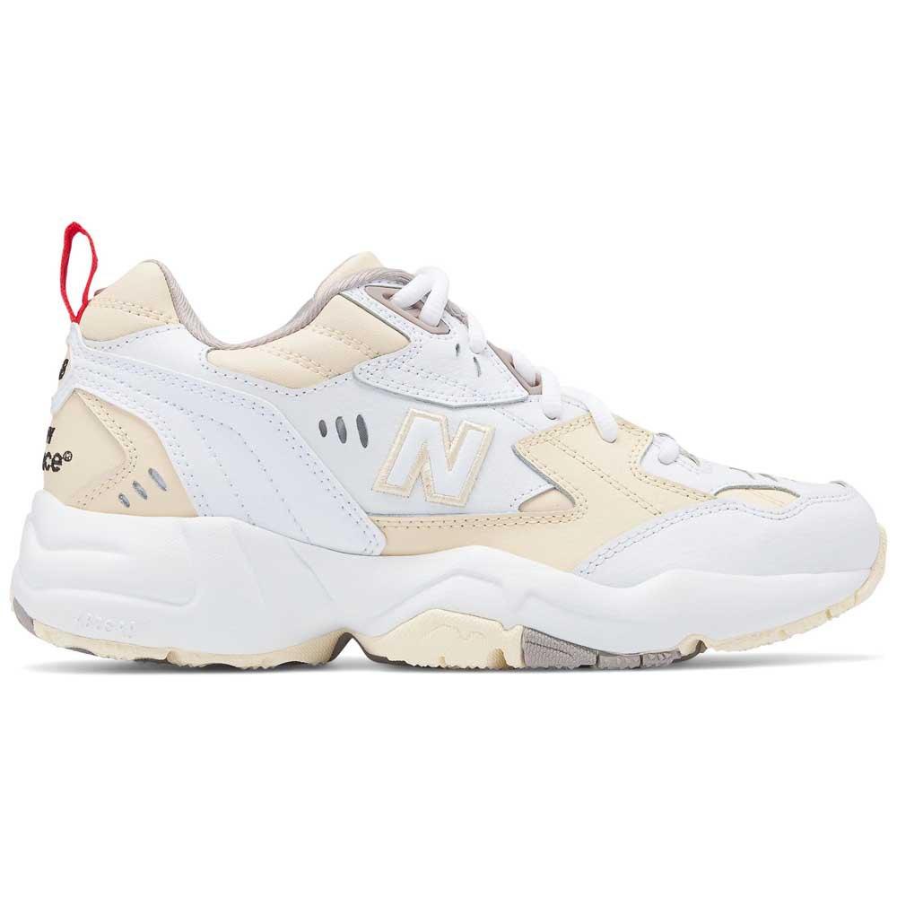 New Balance 608 Shoes - Flat White