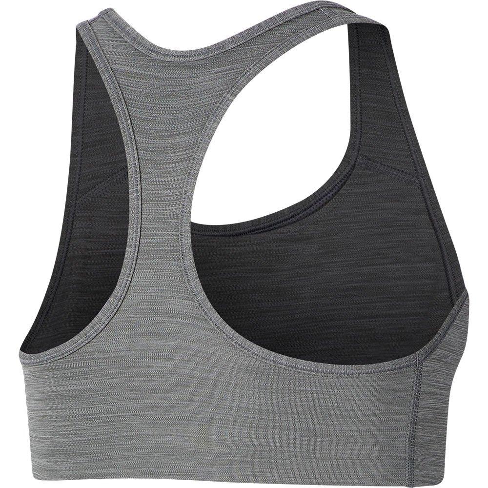 Nike Swoosh Padded Medium Support Grå kjøp og tilbud