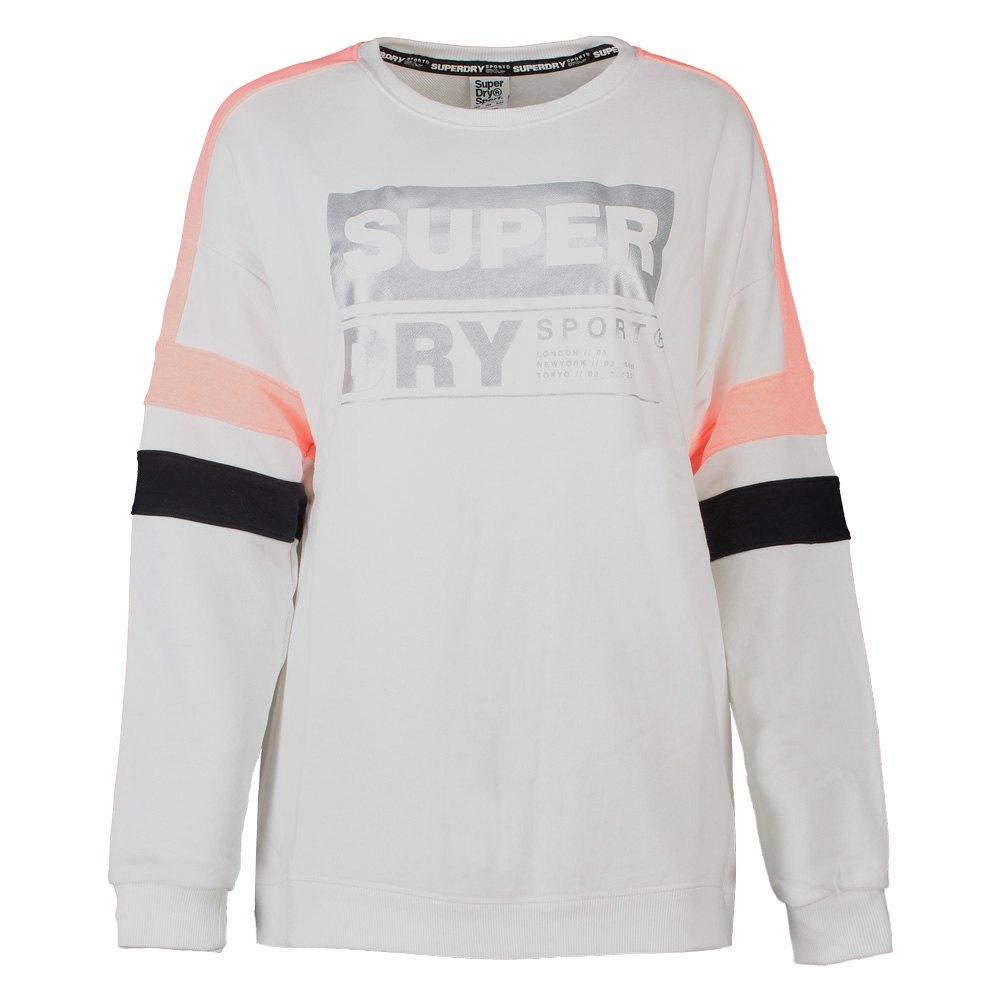 Superdry Sports Active Relaxed Hvit kjøp og tilbud, Traininn