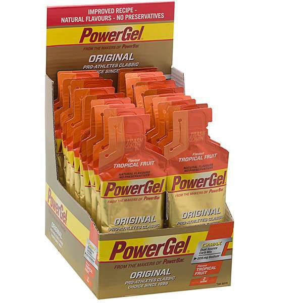Powerbar Gel Tropical Fruit Box 24 Units